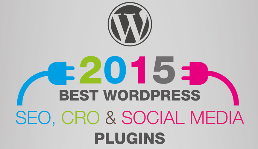 2015 Best Wordpress SEO, CRO, and Social Media Plugins Infographic