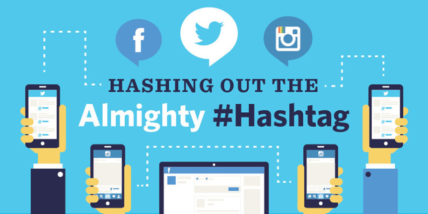 Hashing out the Almighty Hashtag #Infographic on Social-Graphics