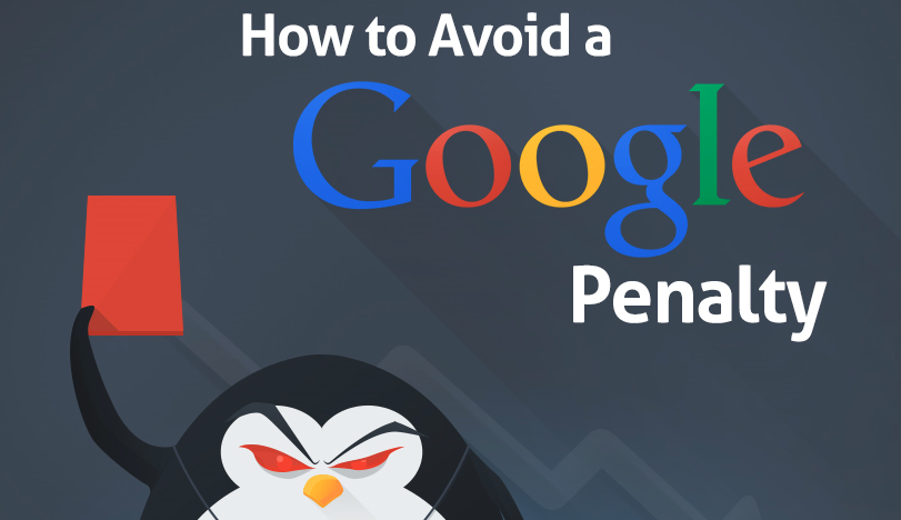 How to Avoid a Google Penalty Infographic