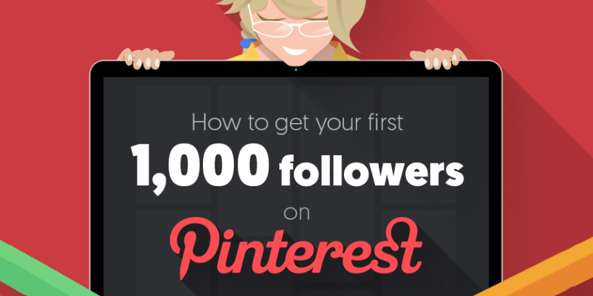 How to Get Your First 1,000 Followers on Pinterest #infographic