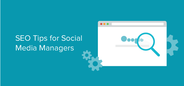 SEO Tips for Social Media Managers #infographic